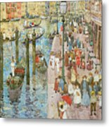 The Grand Canal Venice Metal Print