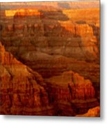 The Grand Canyon West Rim Metal Print