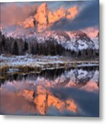 The Grand Teton Metal Print