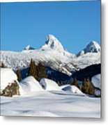 The  Grand Tetons From Alta Wyoming Metal Print