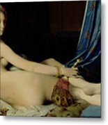 The Grande Odalisque Metal Print