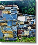 The Grateful Stone Wall Metal Print