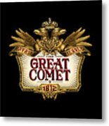 The Great Comet Metal Print
