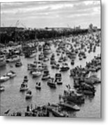 The Great Flotilla Metal Print