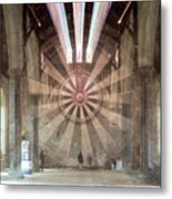 The Great Hall, Winchester Castle, Hampshire Zoom Burst Metal Print