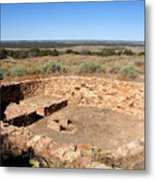 The Great Kiva Metal Print