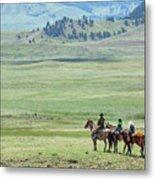 The Great Montana Expanse Metal Print