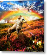 The Great Out Pouring  Metal Print