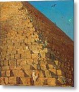 The Great Pyramid. Giza Metal Print