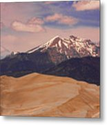 The Great Sand Dunes And Sangre De Cristo Mountains Metal Print