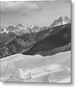 The Great Sand Dunes Bw Print 45 Metal Print by James BO  Insogna