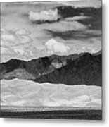 The Great Sand Dunes Panorama 2 Metal Print