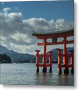 The Great Torii Metal Print