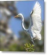 The Great White Egret Metal Print