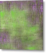 The Green Fog Metal Print