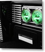 The Green Hornet Black Beauty Clone Car Metal Print