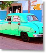 The Green Hornet Metal Print