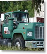 The Green Mack Metal Print