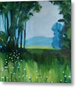 The Green Of Spring Metal Print