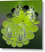The Green Towers Metal Print