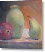 The Green Vase Metal Print