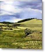 The Green White Mountains 1825 Metal Print
