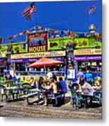 The Grill House Metal Print