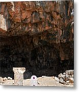 The Grotto Of The God Pan Metal Print