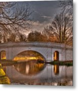 The Grove Bridge On The Grand Union Canal  Metal Print