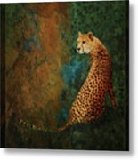 The Guard At The Temple Metal Print