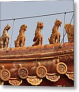 The Guardians Of The Forbidden City Metal Print