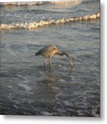 The Gulf At Twilight - One For The Road Metal Print