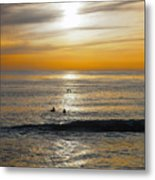 The Gull And Us Metal Print