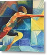 The Gymnast  Metal Print