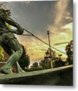 The Hammer Throw Metal Print