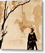 The Hangman's Tree Metal Print