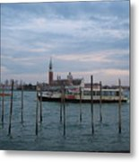 The Harbor Metal Print