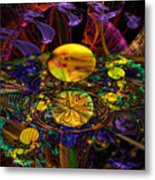 The Harmony Of Truly Cosmic Spheres Metal Print