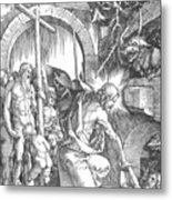 The Harrowing Of Hell Or Christ In Limbo From The Large Passion 1510 Metal Print