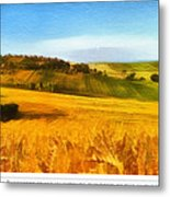 The Harvest Is Plentiful Metal Print by Dale Jackson
