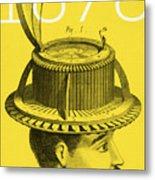 The Hat Conformator Metal Print