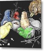 The Hatching Of Chicks. Metal Print