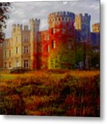 The Haunted Castle Metal Print
