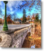 The Headless Horseman Bridge Metal Print