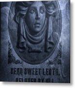 The Headstone Of Madame Leota Metal Print
