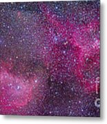 The Heart And Soul Nebulae Metal Print