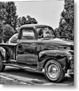 The Heart Beat Since 1950 In Hdr Black And White Metal Print