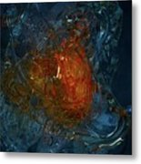 The Heart Of A Glass Blower Metal Print