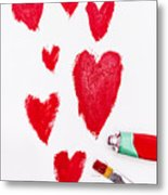 The Heart Of Love Metal Print