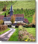 The Heart Of Normandy Metal Print